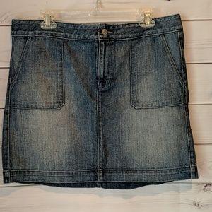 LOFT denim skirt size 12
